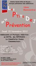 P'tits dej de la prévention 15 nov 12