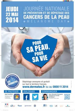 5dfc1981783ef2 Journee nationale prevention depistage cancers peau Melanome day