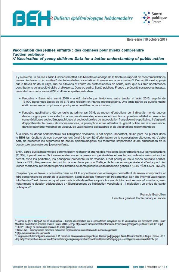 Calendrier Vaccinal 2019 Beh.Blog Notes Vaccination
